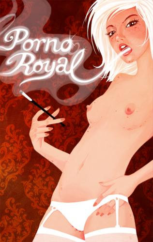 Cartoon: Porno Royal (medium) by Pikomi tagged erotik,frau,girl,sexy,