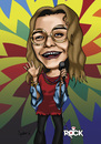 Cartoon: Janis Joplin (small) by mitosdorock tagged rock,janis,joplin