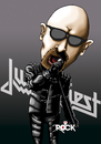 Cartoon: Judas Priest (small) by mitosdorock tagged rock,judas,priest