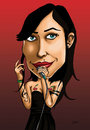 Cartoon: PITTY CARICATURE (small) by mitosdorock tagged pitty,caricatura,rock