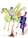 Cartoon: no text (small) by Miro tagged no,text
