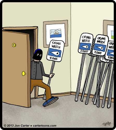 Cartoon: Sign Thief (medium) by cartertoons tagged thief,crime,stealing,signs,police,criminals,thief,crime,stealing,signs,police,criminals