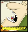 Cartoon: Jester Tooth (small) by cartertoons tagged jester,tooth,crown,dental,dentist,mouth,teeth