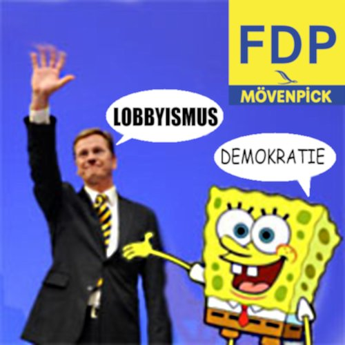 Cartoon: Lobbykratie (medium) by Fareus tagged fdp,politik,westerwelle,lobby,lobbyismus,demokratie