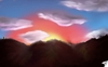Cartoon: Sunset (small) by swenson tagged wolken clouds sun sonne