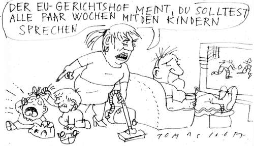 Cartoon: 2010 - alles wird gut! (medium) by Jan Tomaschoff tagged 2010,gesundheitsreform