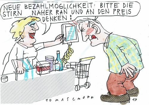 Cartoon: drahtlos (medium) by Jan Tomaschoff tagged technologie,internet,zahlsysteme,technologie,internet,zahlsysteme