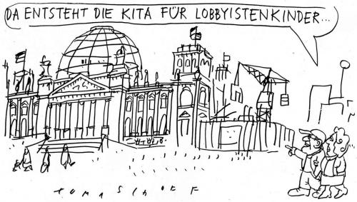 Cartoon: Kita (medium) by Jan Tomaschoff tagged kita