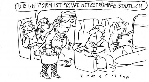 Cartoon: Privatisierung (medium) by Jan Tomaschoff tagged privatisierung,staatsunternehmen