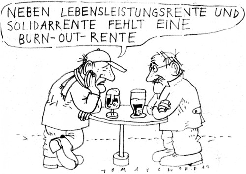 Cartoon: Rente (medium) by Jan Tomaschoff tagged renten,altersvorsorge,renten,altersvorsorge