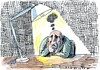 Cartoon: depression (small) by Jan Tomaschoff tagged no