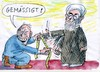 Cartoon: Iran genässigt (small) by Jan Tomaschoff tagged iran,fundamentalismus