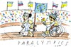 Cartoon: Paralympics (small) by Jan Tomaschoff tagged sotchie,russland