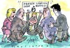 Cartoon: Westerwelle (small) by Jan Tomaschoff tagged libyen,gaddafi,westerwelle,fdp
