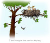 Cartoon: love nest (small) by draganm tagged love nest stone age