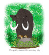 Cartoon: mammoth (small) by draganm tagged mammoth hunting stone age