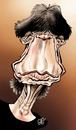 Cartoon: Mick Jagger (small) by Damien Glez tagged mick,jagger,rolling,stones
