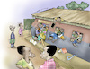 Cartoon: Schools in Africa (small) by Damien Glez tagged schools,education,africa
