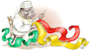 Cartoon: Unity in Mali (small) by Damien Glez tagged mali,unity,africa,terrorism,crisis