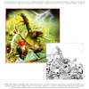 Cartoon: CD Cover (small) by FeliXfromAC tagged felix reinhard horst design line horror comic swcd cover grün tod layout aachen illustration illustrator cartoon nrw germany