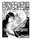 Cartoon: The FeliX Pin Up Girls! (small) by FeliXfromAC tagged reinhard horst design line the felix pin up girls coolbear coolbär illustrator illustration comic comiczeichner zeichner gun crazy felixfromac erotik erotic pinup