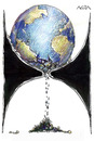 Cartoon: Tiempo final (small) by AGRA tagged ecology earth