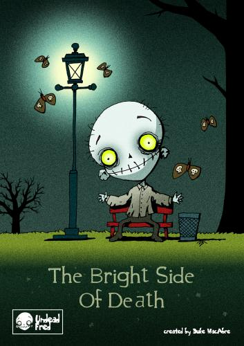 Cartoon: The Bright Side Of Death (medium) by volkertoons tagged creeps,creepy,halloween,fantasy,horror,funny,spooky,tod,untot,tot,death,undead,dead,zombie,humor,illustration
