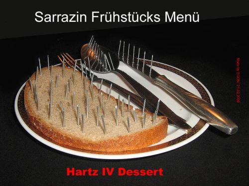 Cartoon: Sarrazin-Dessert 2 (medium) by cartoonist_egon tagged politik,