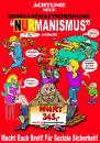 Cartoon: NURmanismus (small) by cartoonist_egon tagged politic,satire,protest