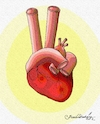 Cartoon: heartbeat victory (small) by halisdokgoz tagged heartbeat,victory