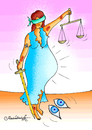 Cartoon: JUSTICE (small) by halisdokgoz tagged justice,dokgoz