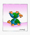 Cartoon: Turtle or World (small) by halisdokgoz tagged turtle,or,world