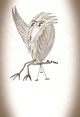 Cartoon: Freedom (medium) by KenanYilmaz tagged freedom,bird,birds