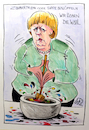 Cartoon: Zaubertrank (small) by RAWU tagged merkel,kanzlerin,wahlkampf