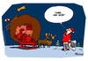 Cartoon: X-mas Leaks (small) by Wunschcartoon tagged christmas xmas wikileaks assange santa claus