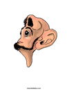 Cartoon: Nosehead (small) by Ahmedfani tagged weird,nose