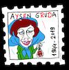 Cartoon: Aysen Gruda (small) by Hayati tagged aysen,gruda,schauspielerin,oyuncu,artist,komik,kiz,domates,güzeli,cartoon,portrait,karikatur,hayati,boyacioglu,berlin