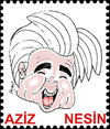 Cartoon: AZIZ NESIN (small) by Hayati tagged aziz nesin satiriker mizah humor humorist istanbul hayati boyacioglu berlin