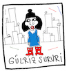 Cartoon: Gülriz Sururi (small) by Hayati tagged schauspielerin,oyuncu,istanbul,kesanli,ali,destani,haldun,taner,engin,cezzar,karikatur,hayati,boyacioglu