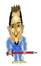 Cartoon: LLOYY - Jorge Martinez (small) by Hayati tagged lloyy,jorge,martinez,madrid,spain,ispanya,espaigne,artist,karikatürist,cizer,kuenstler,amigo,friend,arkadas,hayati,boyacioglu