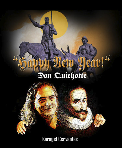 Cartoon: HAPPY NEW YEAR!! (medium) by donquichotte tagged 2010