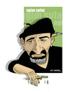 Cartoon: -AGIM SULAJ- PORTRAIT (small) by donquichotte tagged agm