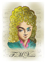 Cartoon: -F. M. VERACINI- PORTRAIT (small) by donquichotte tagged veracini