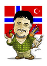 Cartoon: -FIRUZ KUTAL- PORTRAIT (small) by donquichotte tagged kutal