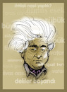 Cartoon: AZIZ NESIN -Turkish Author (small) by donquichotte tagged aziznesin