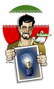 Cartoon: FREEDOM FOR HEIDARI!!! (small) by donquichotte tagged free2