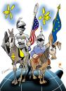 Cartoon: WORLD DON QUICHOTTES (small) by donquichotte tagged dq4