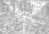 Cartoon: city... (small) by erikberndt tagged urban,traffic,cars