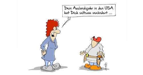 Cartoon: Auslandsjahr (medium) by Marcus Gottfried tagged us,usa,amerika,amoklauf,schule,gewehr,florida,parkland,marjory,stoneman,douglas,high,school,marcus,gottfried,cartoon,karikatur,waffenlose,gesetze,us,usa,amerika,amoklauf,schule,gewehr,florida,parkland,marjory,stoneman,douglas,high,school,marcus,gottfried,cartoon,karikatur,waffenlose,gesetze