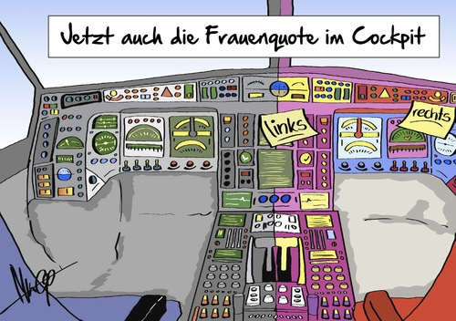 Cartoon: Frauenquote im Cockpit (medium) by Marcus Gottfried tagged flugzeug,frauenquote,frau,mann,gender,emanzipation,ausgleich,gleichberechtigung,marcus,gottfried,cartoon,karikatur,flugzeug,frauenquote,frau,mann,gender,emanzipation,ausgleich,gleichberechtigung,marcus,gottfried,cartoon,karikatur